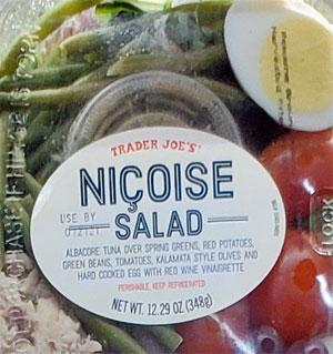 Trader Joe's Nicoise Salad