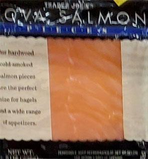 Trader Joe's Nova Salmon Pieces
