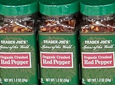 Trader Joe's Organic Crushed Red Pepper