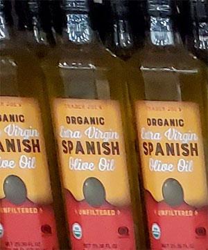 Trader Joe's Organic Extra Virgin Spanish Olive Oil