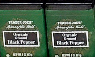 Trader Joe's Organic Ground Black Pepper