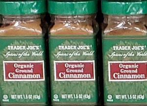 Trader Joe's Organic Ground Cinnamon