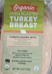 Trader Joe's Organic Oven Roasted Turkey Breast Reviews