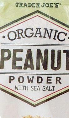 Trader Joe's Organic Peanut Powder