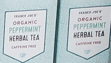 Trader Joe's Organic Peppermint Herbal Tea