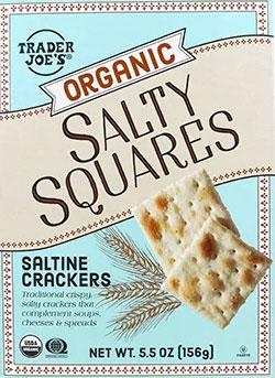 Trader Joe's Organic Salty Squares