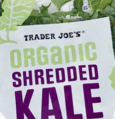 Trader Joe's Organic Shredded Kale