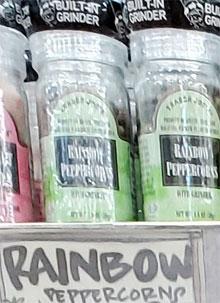 Trader Joe's Rainbow Peppercorns with Grinder