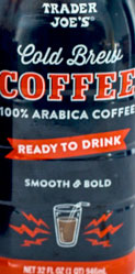 Trader Joe's Ready to Drink Cold Brew Coffee