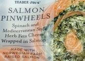 Trader Joe's Salmon Pinwheels