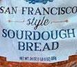 Trader Joe's San Francisco Style Sourdough Bread