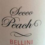 Secco Peach Bellini Wine