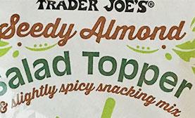 Trader Joe's Seedy Almond Salad Topper