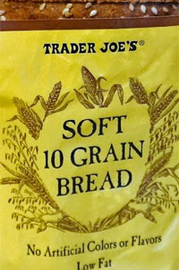 Trader Joe's Soft 10 Grain Bread Reviews