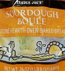 Trader Joe's Sourdough Boule