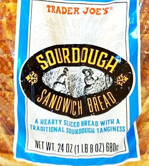 Trader Joe's Sourdough Sandwich Bread