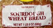 Trader Joe's Sourdough Wheat Bread