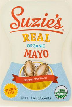 Suzie's Real Organic Mayo