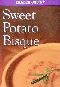Trader Joe's Sweet Potato Bisque