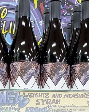 Weights & Measures Syrah