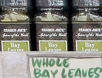 Trader Joe's Bay Leaves