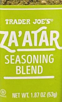 Trader Joe's Za'atar Seasoning Blend