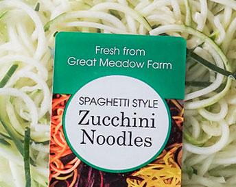 Great Meadow Farm Spaghetti Style Zucchini Noodles