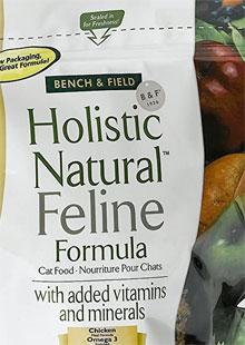 Bench & Field Holistic Natural Feline Formula Cat Food
