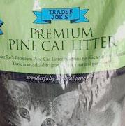 Trader Joe's Premium Pine Cat Litter