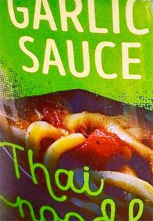 Trader Joe's Garlic Sauce Thai Noodles