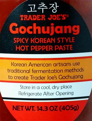 Trader Joe's Gochujang Spicy Korean Style Hot Pepper Paste