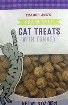 Trader Joe's Grain Free Cat Treats with Turkey