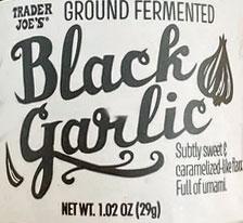 Trader Joe's Ground Fermented Black Garlic