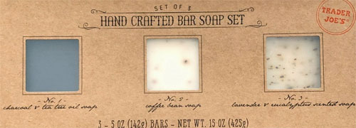 Trader Joe's Hand Crafted Bar Soap Set
