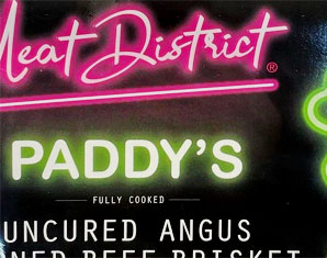 Meat District Paddy's Uncured Angus Corned Beef Brisket