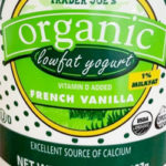 Trader Joe's Organic Low Fat French Vanilla Yogurt
