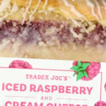 Trader Joe's Iced Raspberry and Cream Cheese Danish Strip