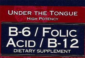 Trader Joe's B-6, Folic Acid, and B-12 Supplement