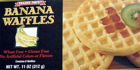 Trader Joe's Banana Waffles