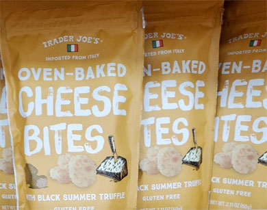 Trader Joe's Black Summer Truffle Oven Baked Cheese Bites Reviews