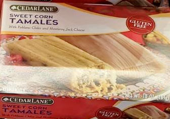 Cedarlane Sweet Corn Tamales Reviews