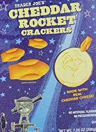 Trader Joe's Cheddar Rockets Crackers