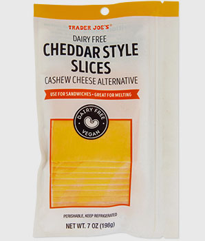 Trader Joe's Dairy-Free Cheddar Style Slices