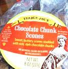 Trader Joe's Chocolate Chunk Scones