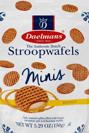 Daelman's Stroopwafels Caramel Minis