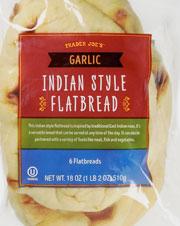 Trader Joe's Garlic Naan Indian Style Flatbread