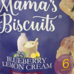 Mama's Blueberry Lemon Cream Biscuits