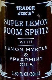 Trader Joe's Super Lemon Room Spritz