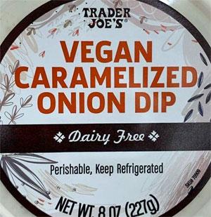 Trader Joe's Vegan Caramelized Onion Dip