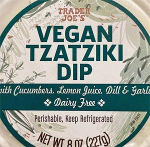 Trader Joe's Vegan Tzatziki Dip